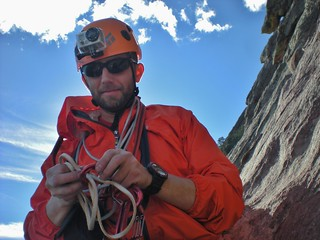 Doug Getting Ready for Pitch 3