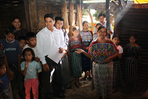 Inside a Guatemalan home