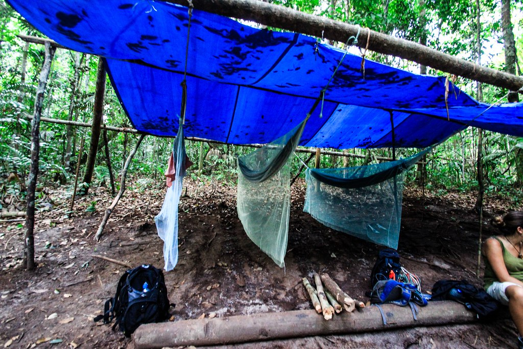 Jungle Camp - Amazon, Brazil