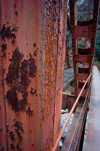 Waste iron bridge