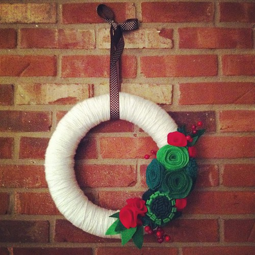 Wreath I made last year!