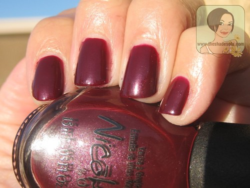 nicole by opi cvs-exclusive nail lacquers swatches  review