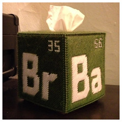 Breaking Bad tissue-box cover