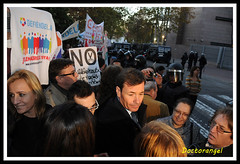 Marea Blanca en la Asamblea de Madrid