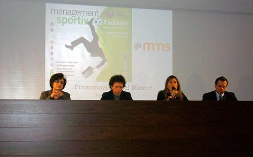 A Torre del Grifo II edizione del Master in Management Sportivo $