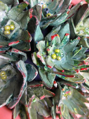 egg carton succulents