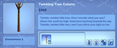 Twinkling Tree Column