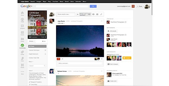 - Google+ lanza Communities, grupos para cada interés