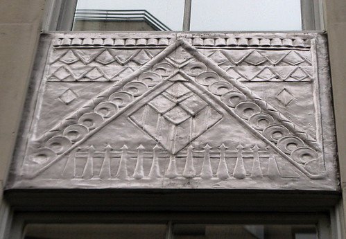 Panel Under Window - 3 East 84th Street