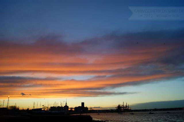 Sunrise, December 7, 2012 - 5