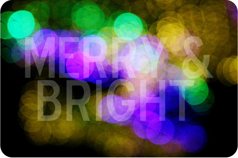 {december daily | day 7} merry & bright