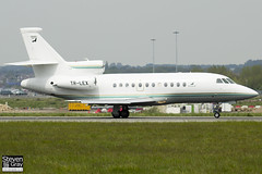 TR-LEX - 24 - Gabon Government - Dassault Falcon 900EX - Luton - 120518 - Steven Gray - IMG_1734