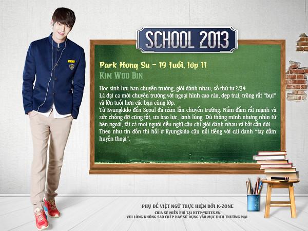 School 2013 (Kim Woo Bin)