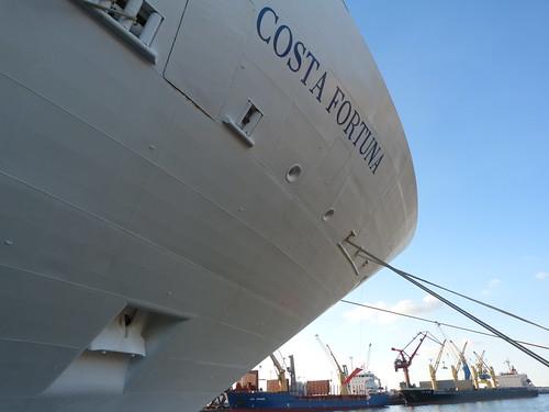 Fotografía tomada en el crucero realizado en el Costa Fortuna