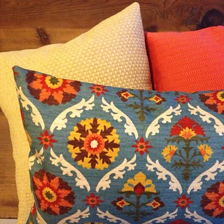 Three new pillow cases complete! So happy to have a sewing machine again.