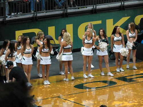 U of O Basketball Game by Carol Munro was rgtmum