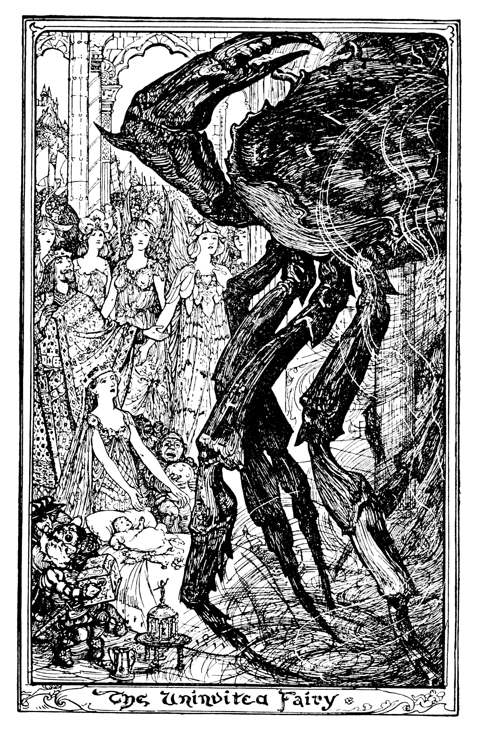 Henry Justice Ford - The orange fairy book edited by Andrew Lang , 1906 (illustration 7)