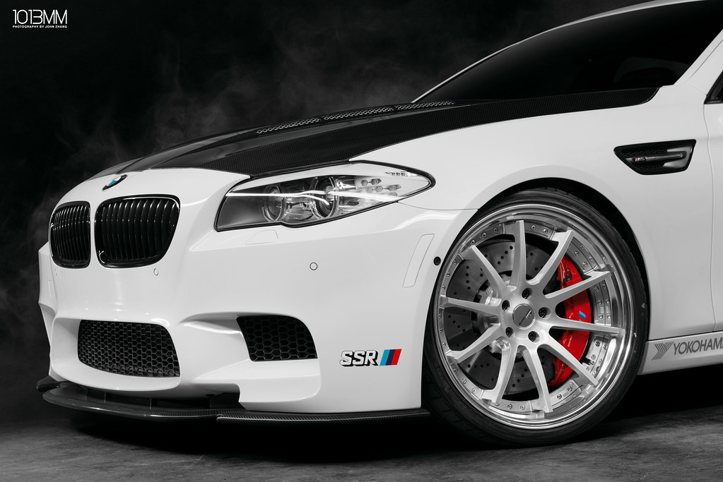 SSR Wheels x Vivid Racing BMW M5