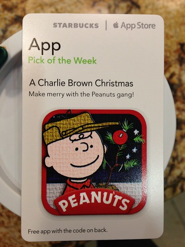 Starbucks iTunes Pick of the Week - A Charlie Brown Christmas