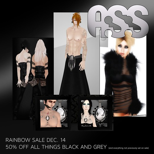 The Grande A:S:S anniversary rainbow sale finale! by Photos Nikolaidis