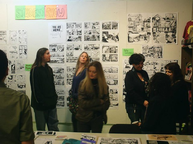 SAW End of Semester Student Show Dec 2012