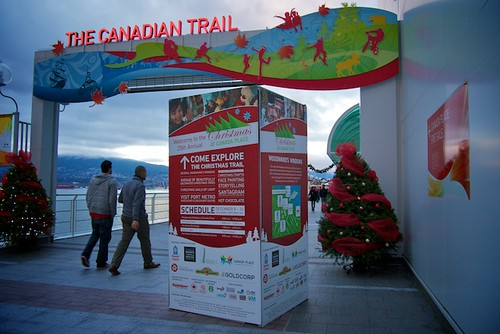 Christmas at Canada Place 2012