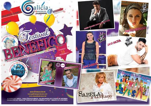 Orquesta Olympus 2012 - Festival benéfico - cartel