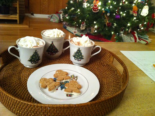 cocoa/cookies/tree