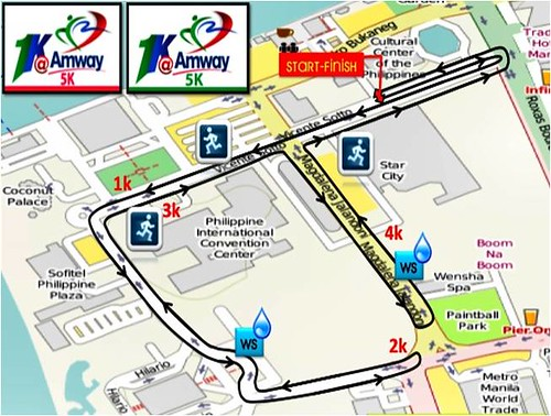 Amway Run 5k Route