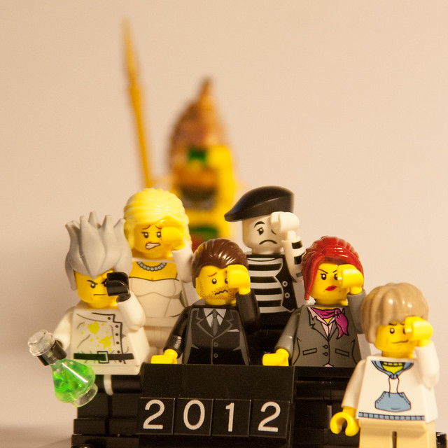 2012 Lego Facepalm