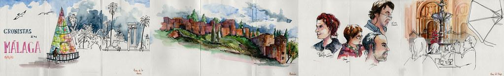 Cuaderno Cronistas Málaga