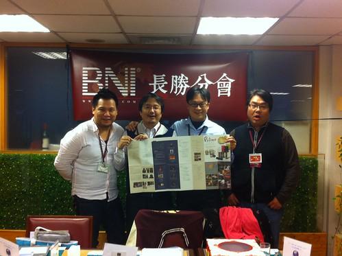 BNI長勝分會:四位參加Pulima藝術節的成員:杰穎、龍進、正信、嘉修 by bangdoll@flickr