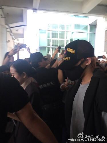 BIGBANG GDTOPDAE arrival Hangzhou 2015-08-25 127