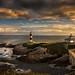 Isla Pancha Lighthouses, Ribadeo, Galicia, Spain by dleiva