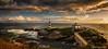 Isla Pancha Lighthouses, Ribadeo, Galicia, Spain