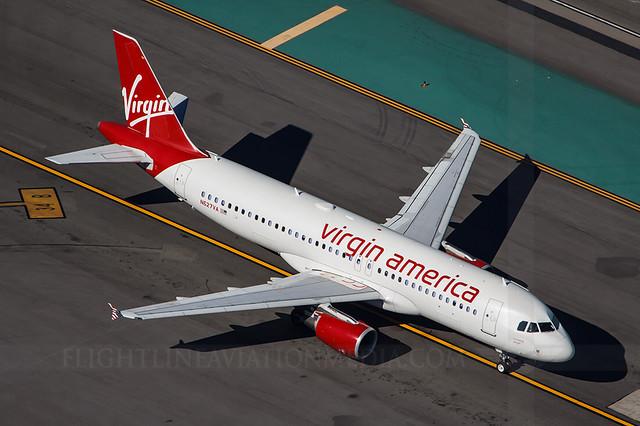 Virgin America Airbus A320-214 N627VA