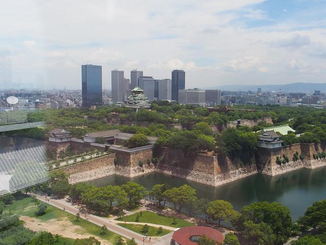 由大阪歷史博物館遠眺大阪城