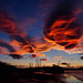 Lenticular clouds over Cromarty by ccgd