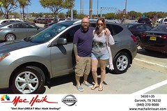 Congratulations Michael & Ginger on your #Nissan #Rogue from Greg Amos at Mac Haik Nissan Corinth! #NewCar