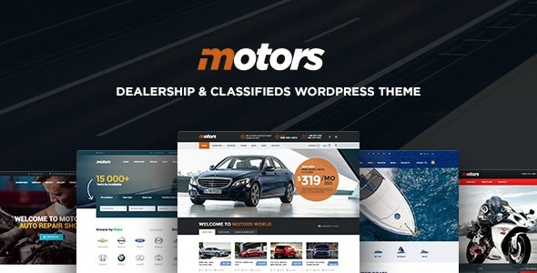 Motors v3.6.3 – Automotive, Cars, Vehicle, Boat Dealership & Classifieds WordPress Theme