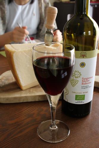 豚肉のインヴォルティーニ パルミジャーノ・レッジャーノとワインのマリアージュレッスンより