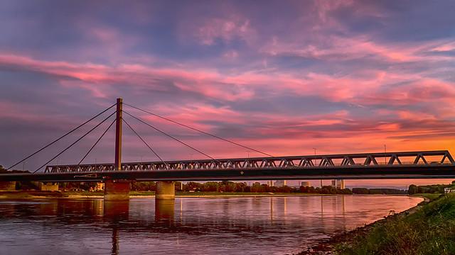 Indian summer sunset...