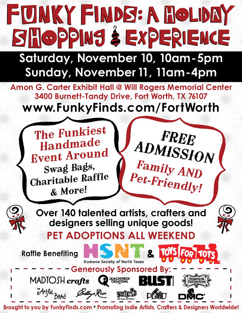 Funky Finds event...THIS WEEKEND!