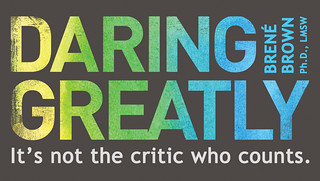 Dr. Brené Brown's Daring Greatly magnet