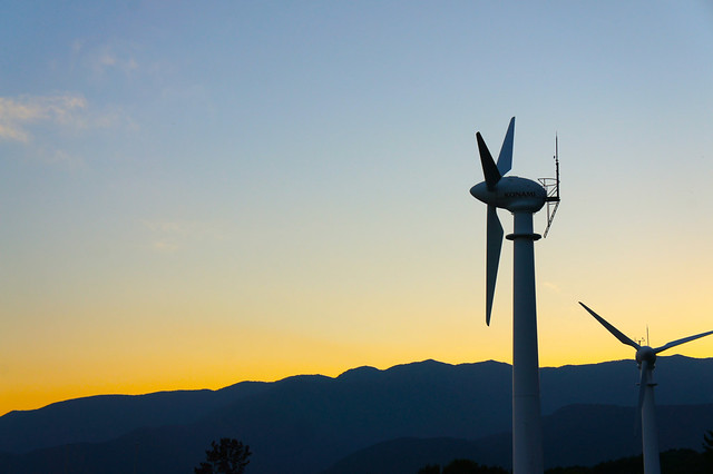 那須の風車