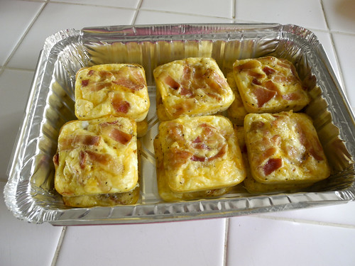 Mini Bacon & Cheese Frittatas