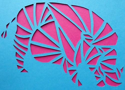 paper-cut-wild-boar