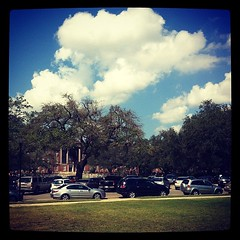 Great sky over Newcomb #onlyattulane
