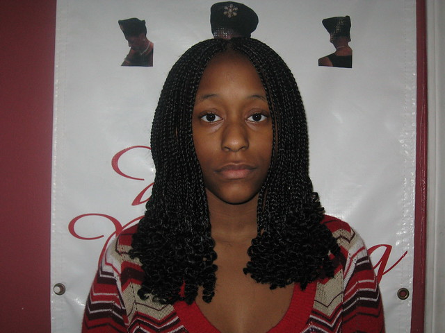 Long Curly ends single braids | Flickr - Photo Sharing!