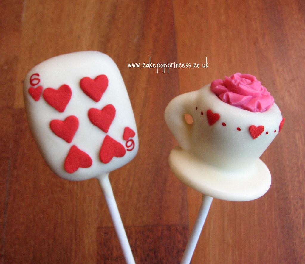 Cute Girly Cake Pops